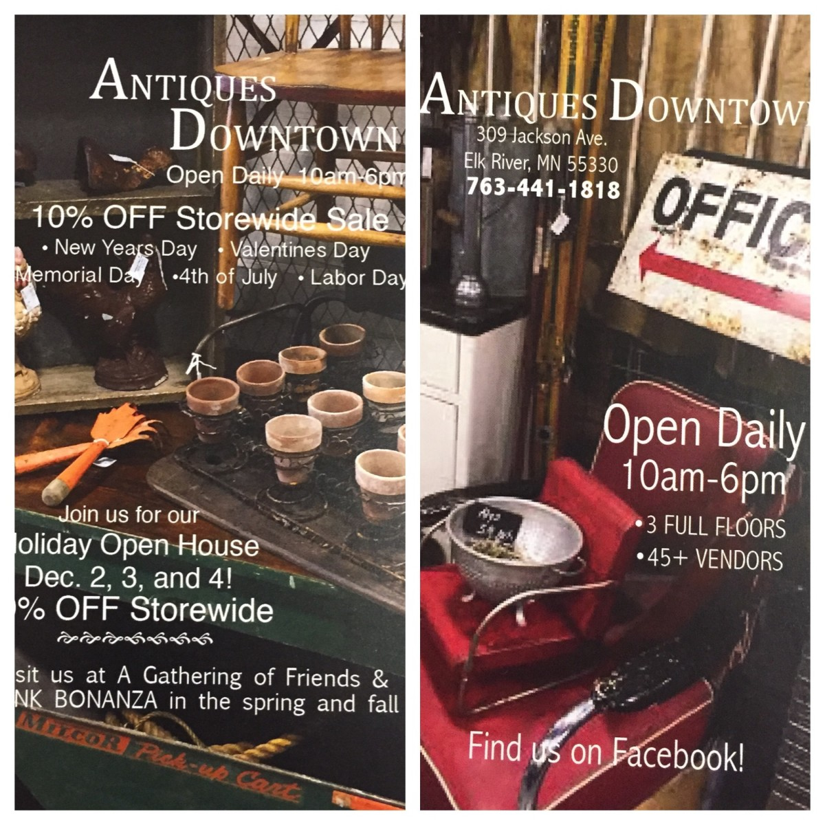 Restaurants Open On Christmas Day 2020 In Elk River, Mn Antiques Downtown | Explore Minnesota