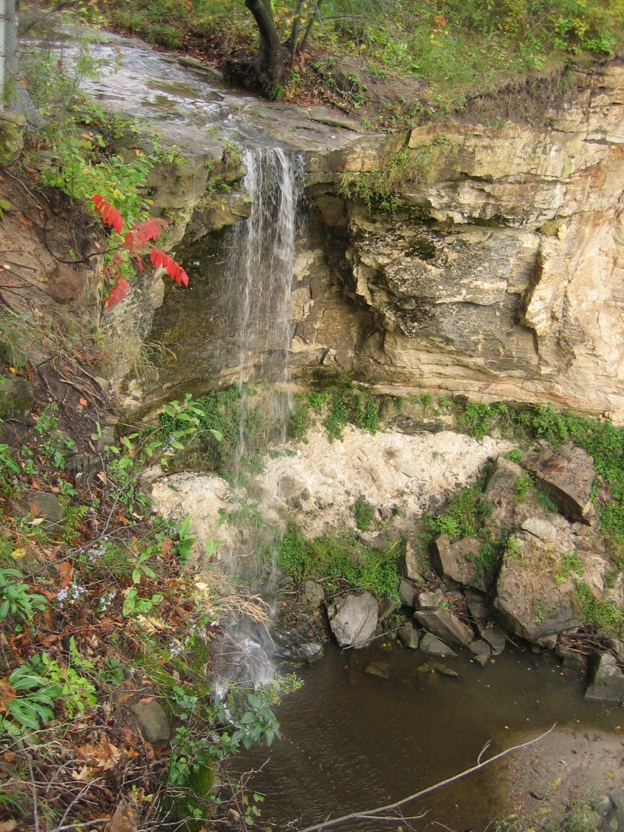 Minnemishinona Falls Explore Minnesota