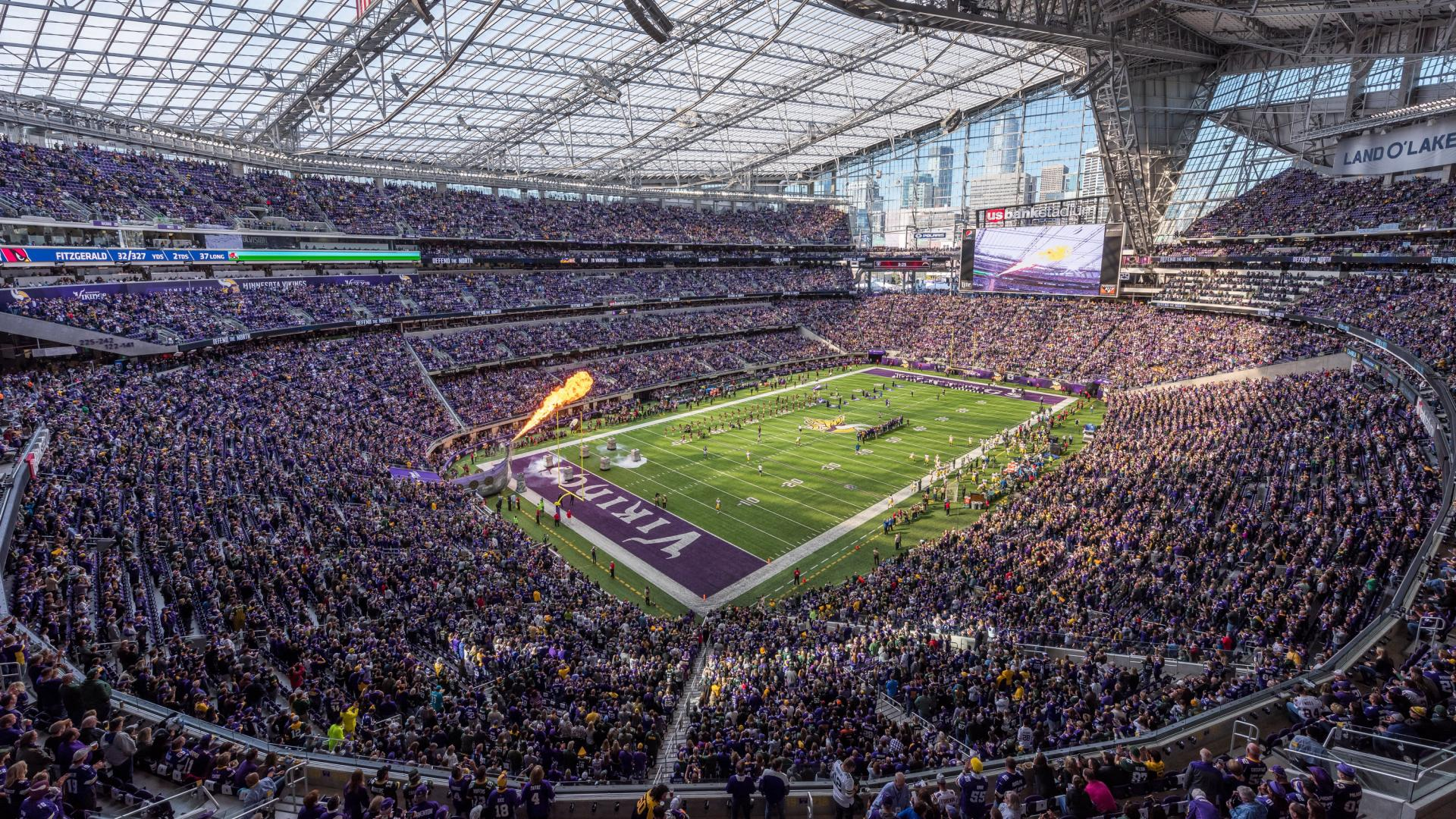 Minnesota Vikings game at U.S. Bank Stadium