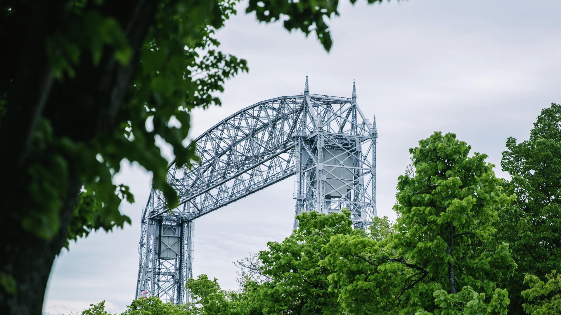 Aerial Lift Bridge in Duluth