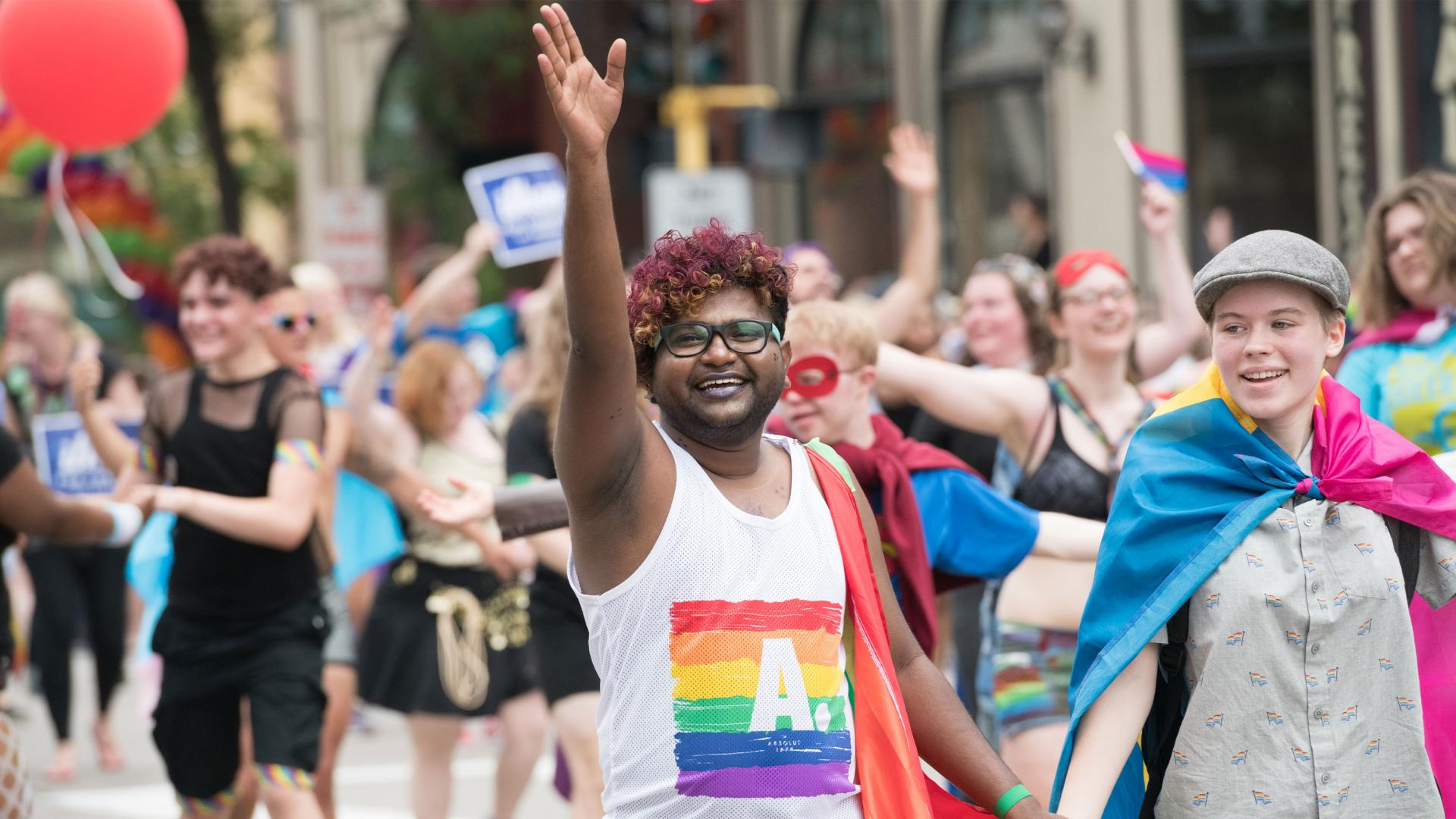 Pride parade Minneapolis