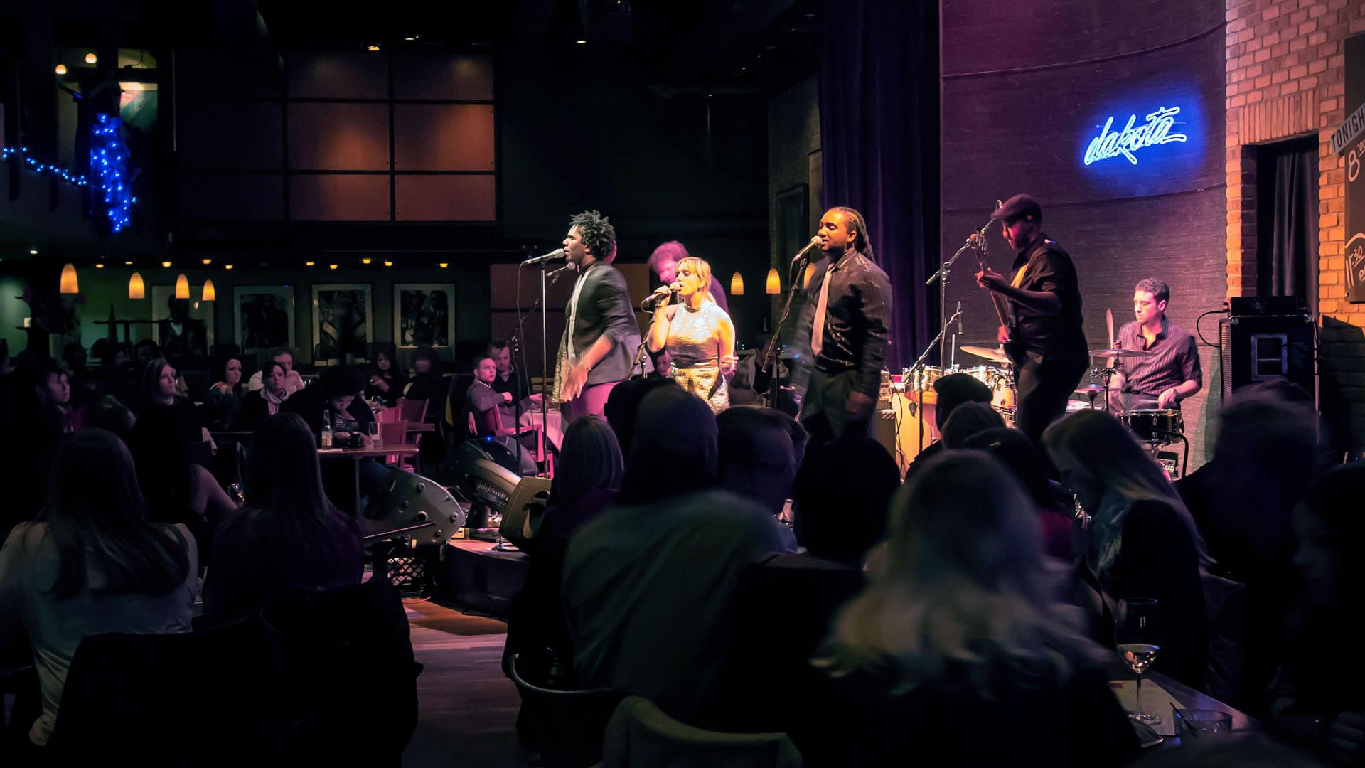 Band performs at Dakota Jazz Club