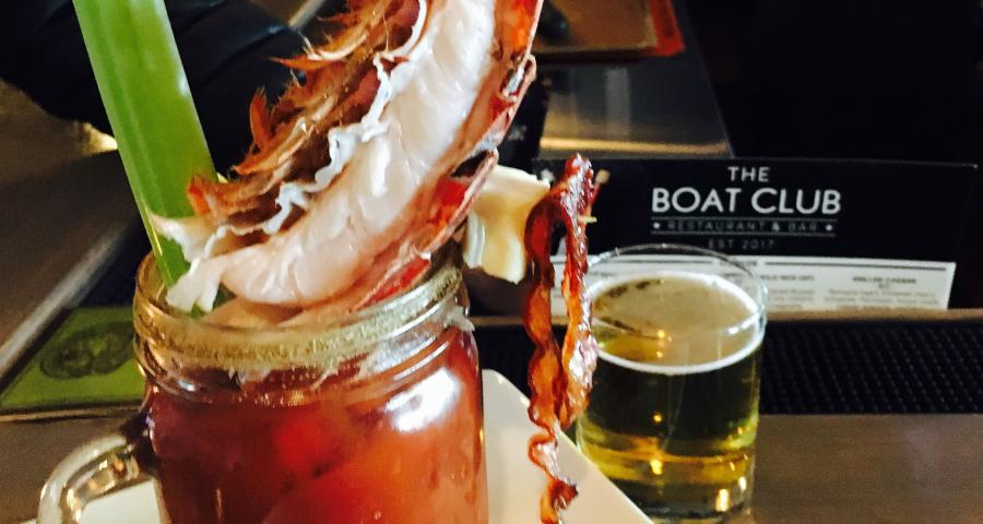 Boat Club bloody mary Duluth