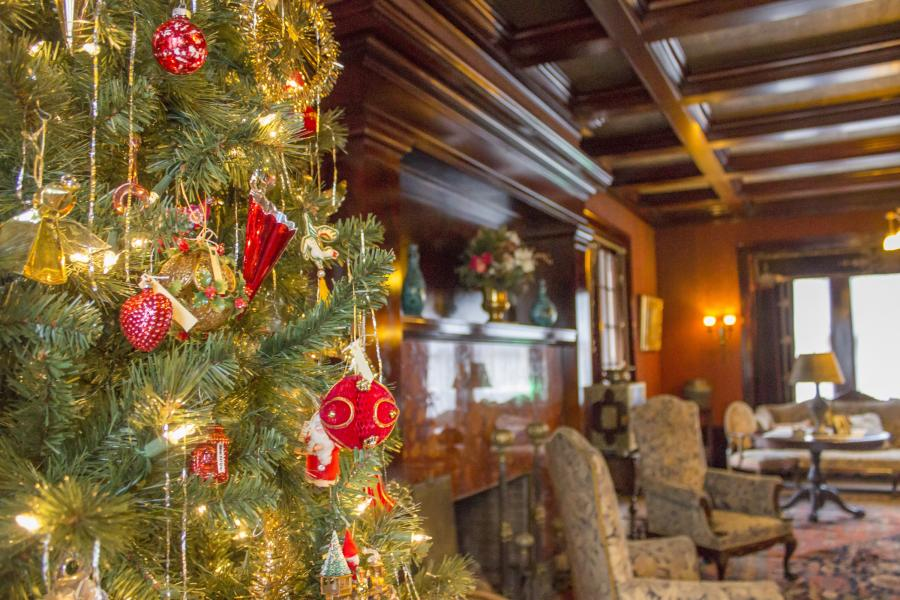Holiday Decorations at Glensheen Mansion Duluth