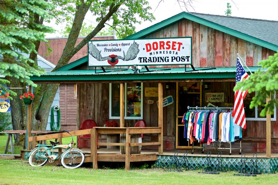 Exterior of the Dorset Trading Post