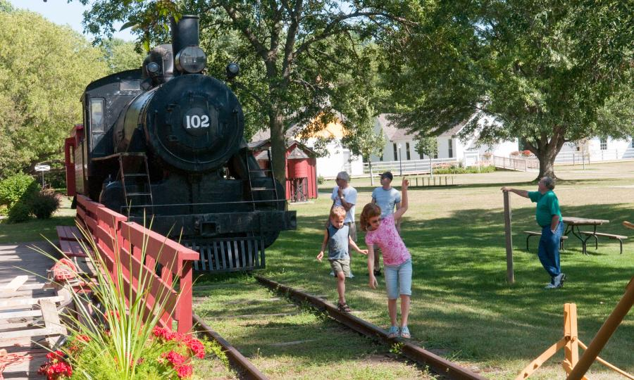 End-o-Line Railroad Park and Museum in Currie