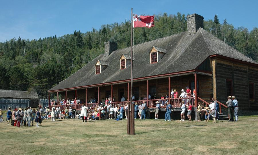 Great Hall Rendezvous Days Grand Portage