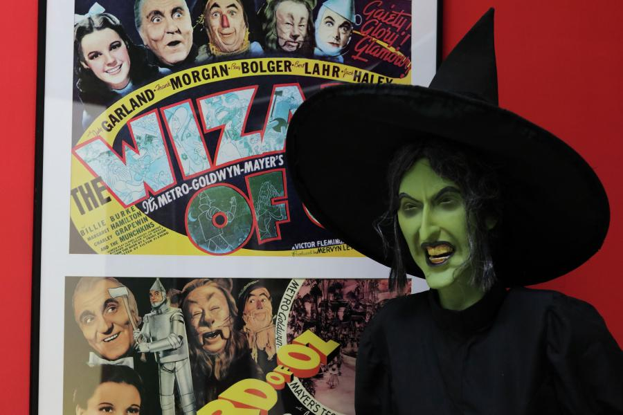 Wicked Witch exhibit at Judy Garland Museum