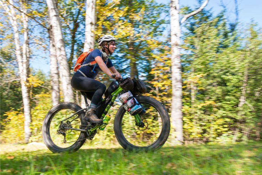 Superior National Forest bikepacking biking