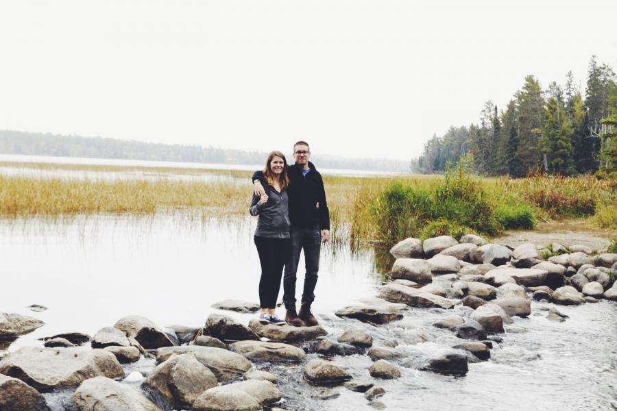 Couple Itasca State Park Mississippi Headwaters