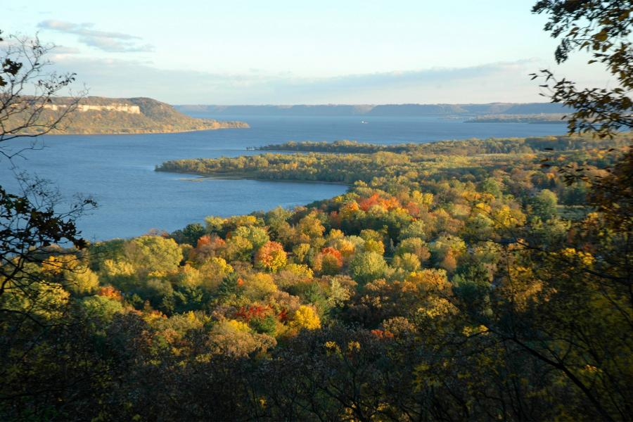 Frontenac State Park fall colors