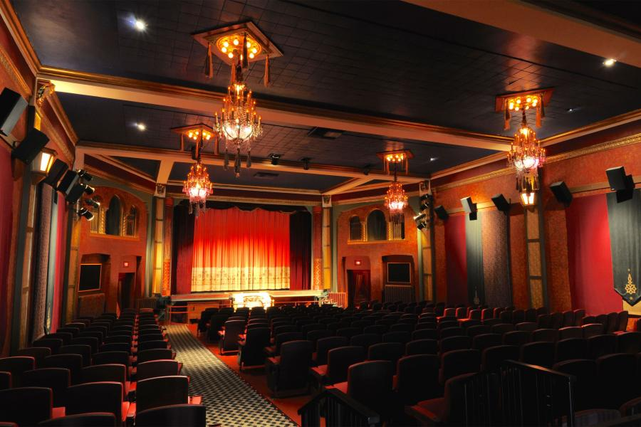 Heights Theater interior