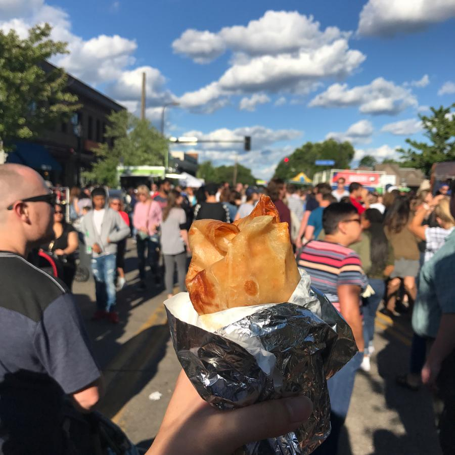 Burrito held up at festival