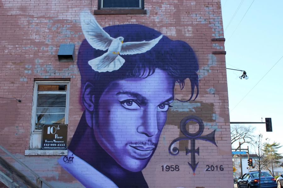 Mural de Prince Uptown Minneapolis