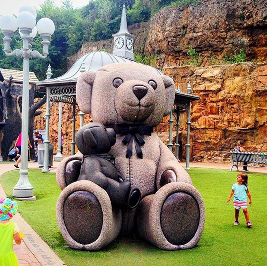 Teddy bear park in Stillwater