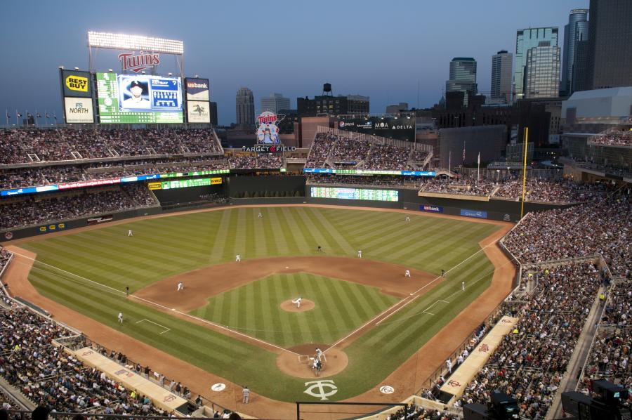 Twins baseball against Chicago White Sox at Target Field