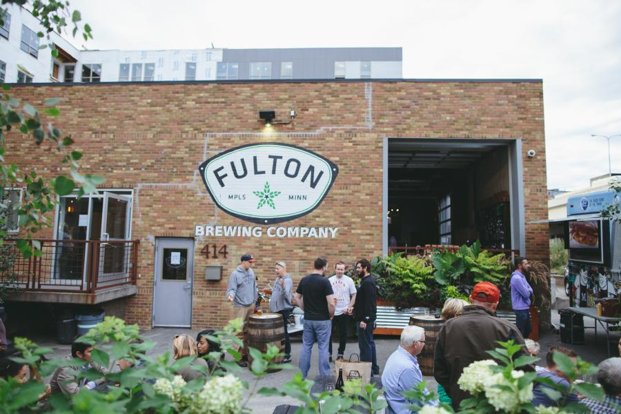 Fulton Brewery exterior and patio