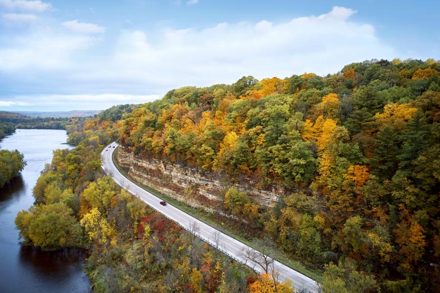 Take in all the views on one of the many scenic byways in Minnesota