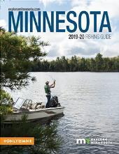 2019-20 Minnesota Fishing Guide Cover