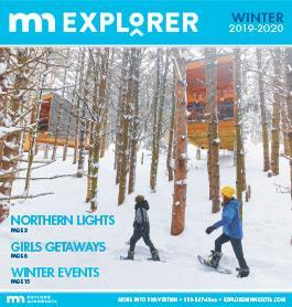 Minnesota Winter Explorer publication cover