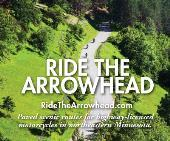 Ride the Arrowhead Map Cover