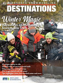Minnesota Snowmobiling Destinations cover