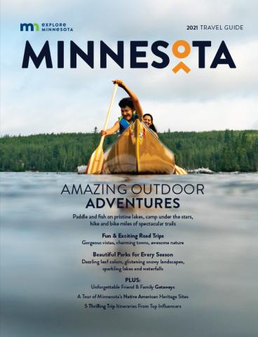 2021 Explore Minnesota Travel Guide Cover