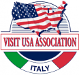 Visit USA - Italy Logo – this link opens in a new window