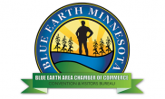 Blue Earth Chamber of Commerce Convention & Visitors Bureau logo