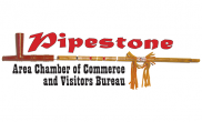 Pipestone Area Chamber of Commerce and Visitors Bureau logo