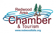 Redwood Area Chamber and Tourism / www.redwoodfalls.org logo