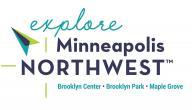 Explore Minneapolis Northwest Logo - Brooklyn Center, Brooklyn Park & Maple Grove