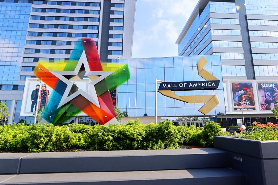 Exterior of Mall of America