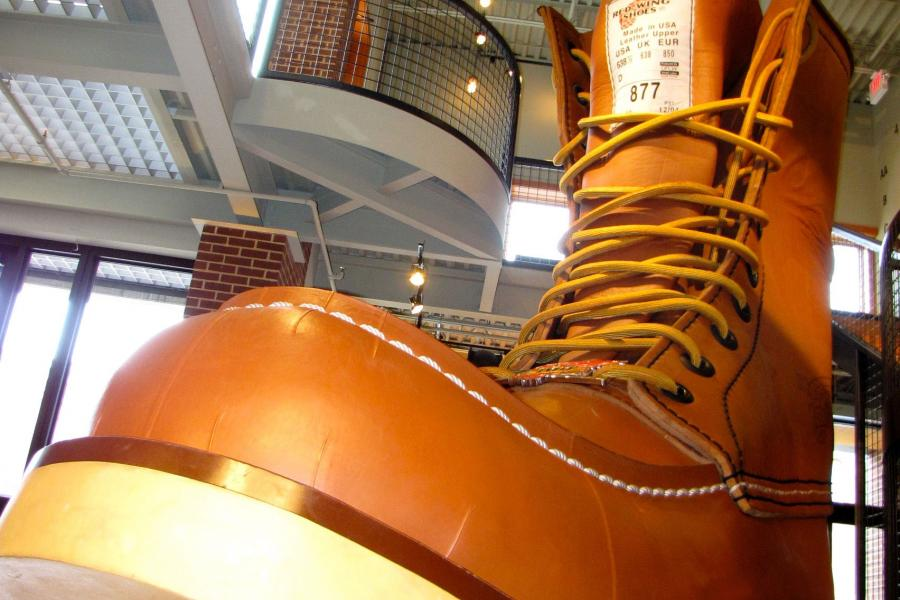 The world's largest boot