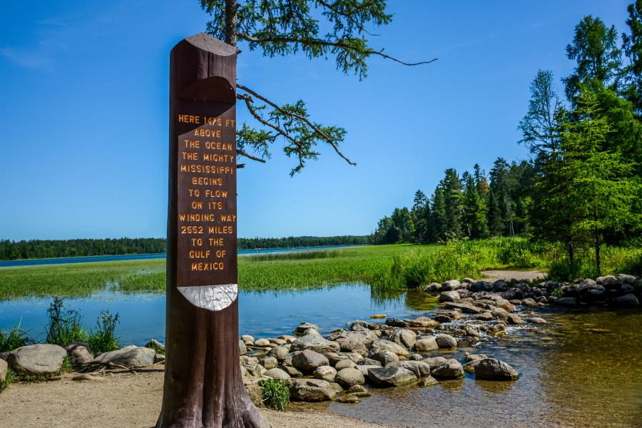 Itasca State Park Mississippi Head Waters