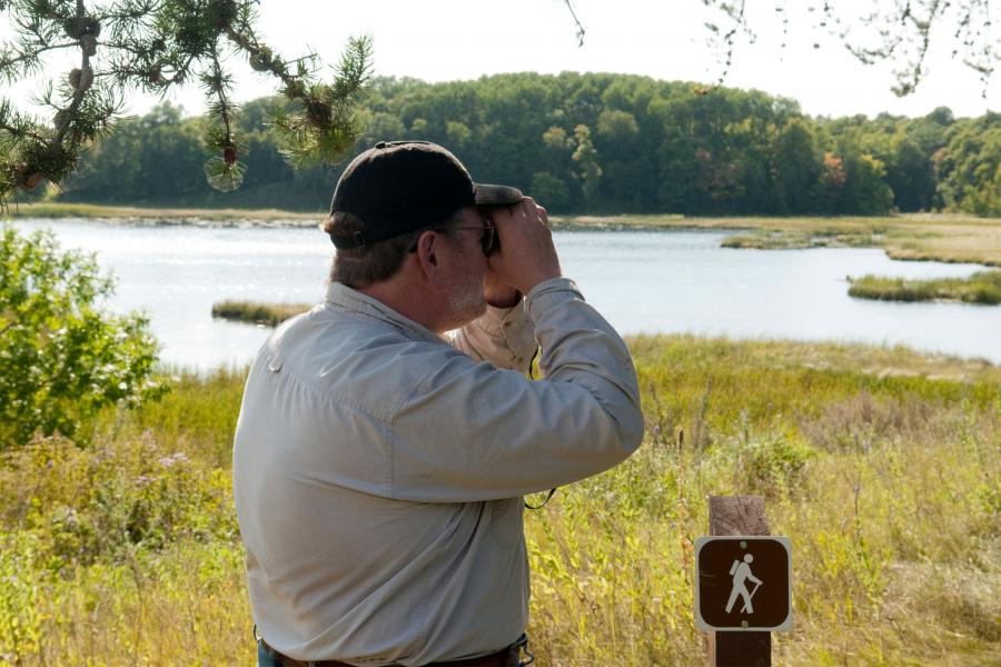 Tamarac National Wildlife Refuge birding