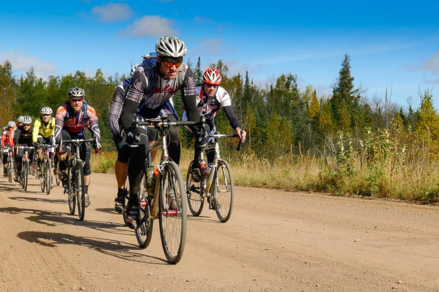 Le Grand du Nord gravel bike race Grand Marais