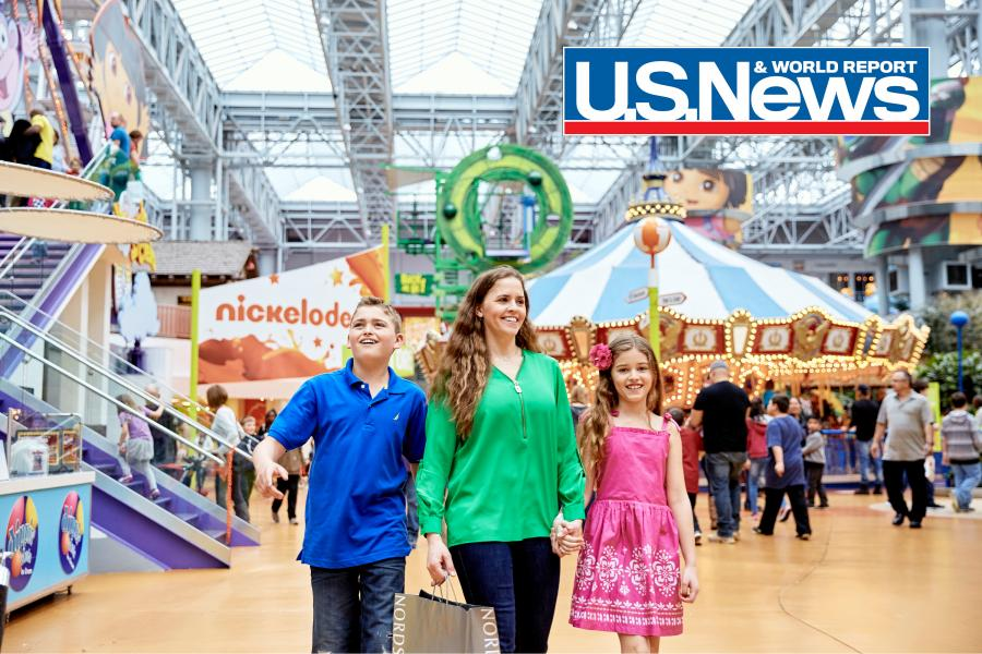 Mall of America family Nickelodeon Universe