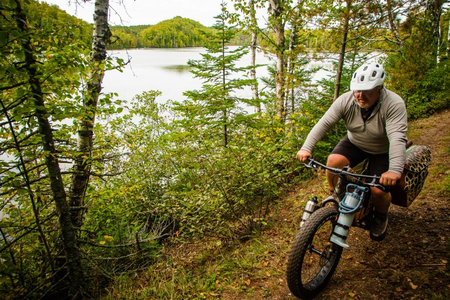 Bikepacking in the Superior National Forest