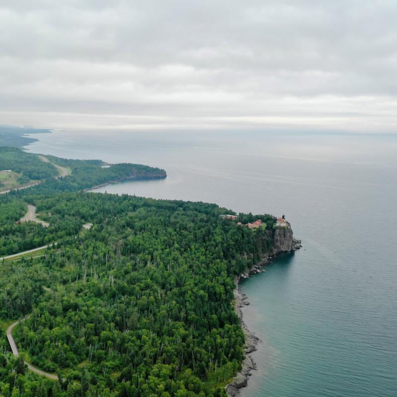Aerial of the North Shore