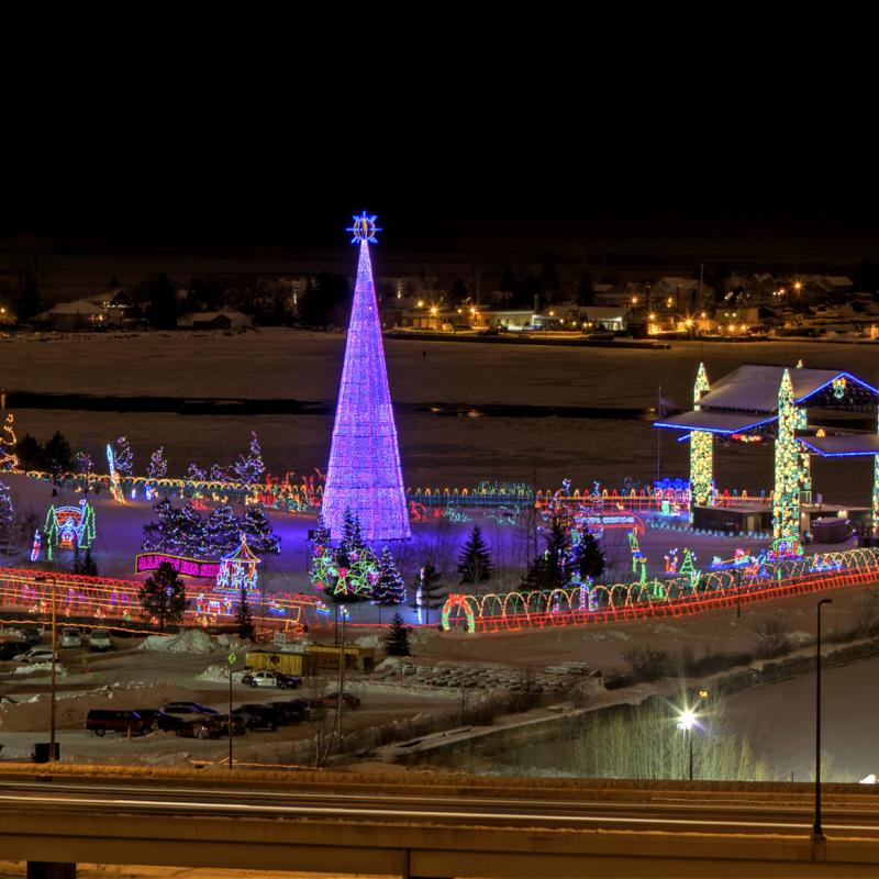 Bentleyville Tour of Lights in Duluth holiday spectacle