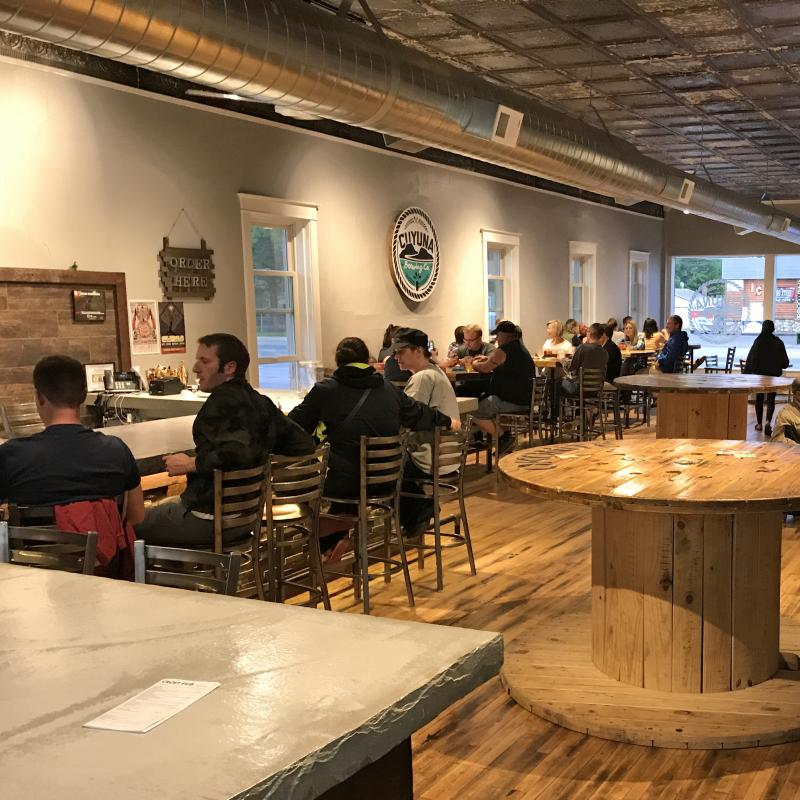 Cuyuna Brewing Company interior