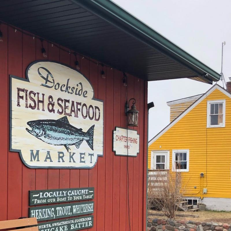 Dockside Fish and Seafood Market exterior