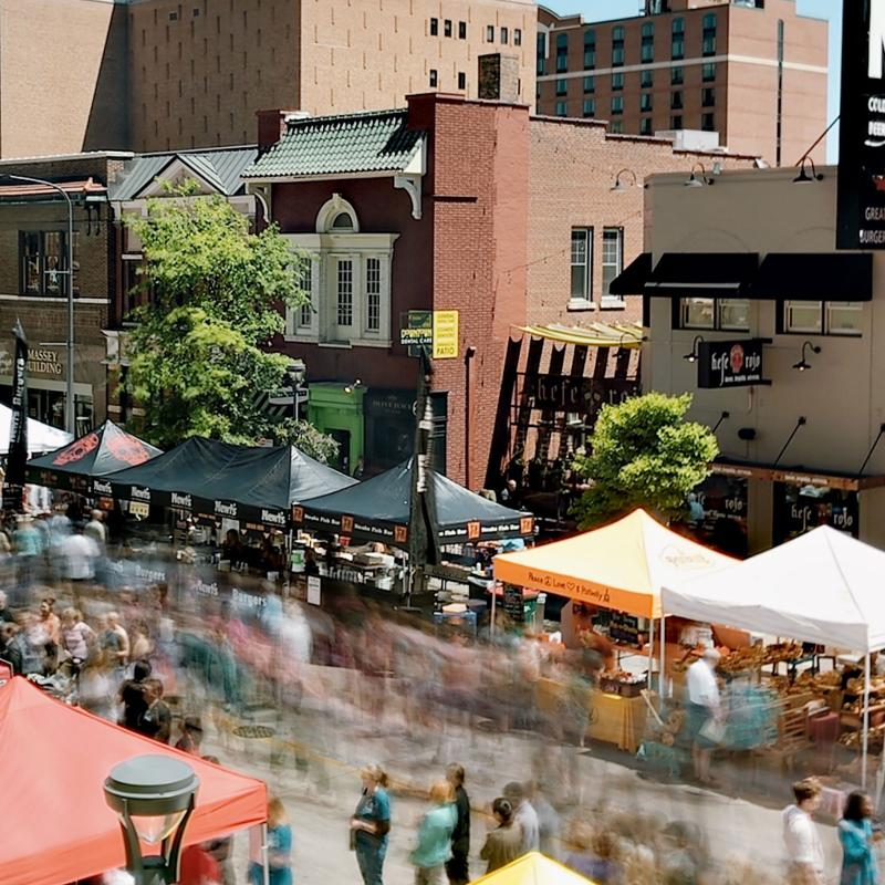 Thursdays on First Festival downtown Rochester