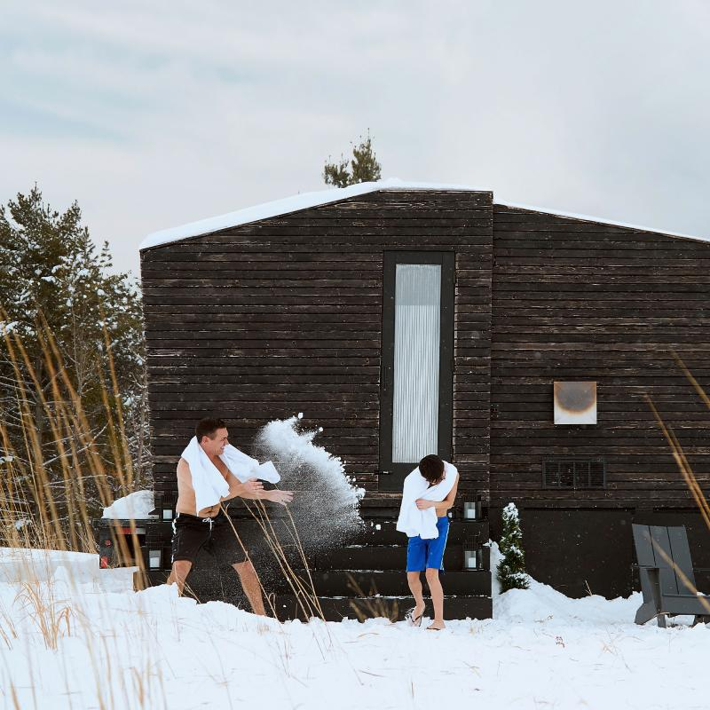 Little Box Sauna in Minneapolis