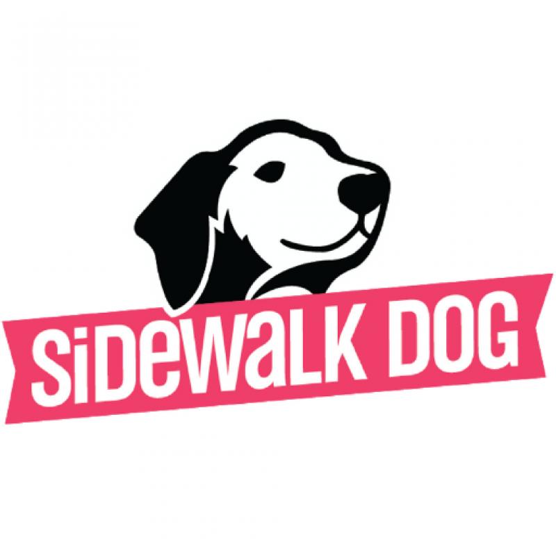Sidewalk Dog