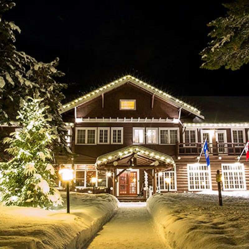 Grand View Lodge resort in winter