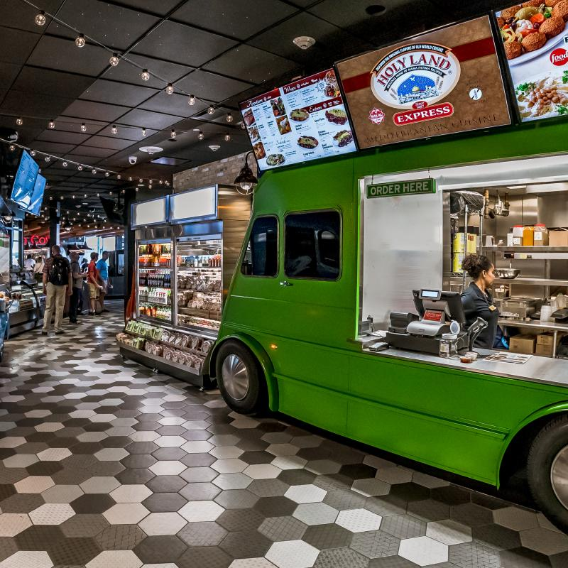 MSP Airport food truck alley